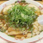 尾道らーめん 三公、広島駅近くで食す