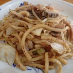 津山ホルモンうどん、いっぱい茶屋 東宝で食す