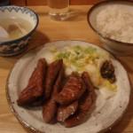 仙台駅で「喜助」で牛タンを食することに