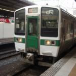 仙台駅からJR仙山線で作並駅に出発