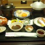 鷹泉閣 岩松旅館の夕食は部屋食で