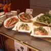 鷹泉閣 岩松旅館の朝食はバイキング形式