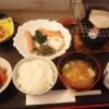 湯守田中屋の朝食はバイキング