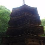 別所温泉の安楽寺に、国宝八角三重塔など