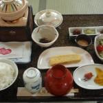 上松屋旅館の朝食